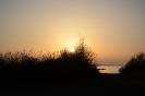 Die Sonne sagt der Erde gute Nacht