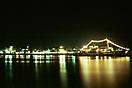 Blaue Nacht im Hafen