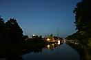 Haren (Ems) Kanalhafen zur Blauen Stunde