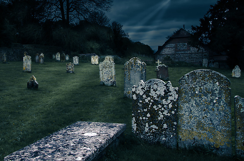 Friedhof in England
